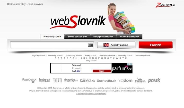 webSlovník